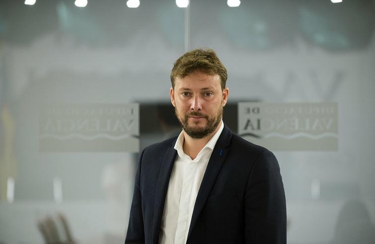 Andrés Campos, diputado de deportes de Valencia